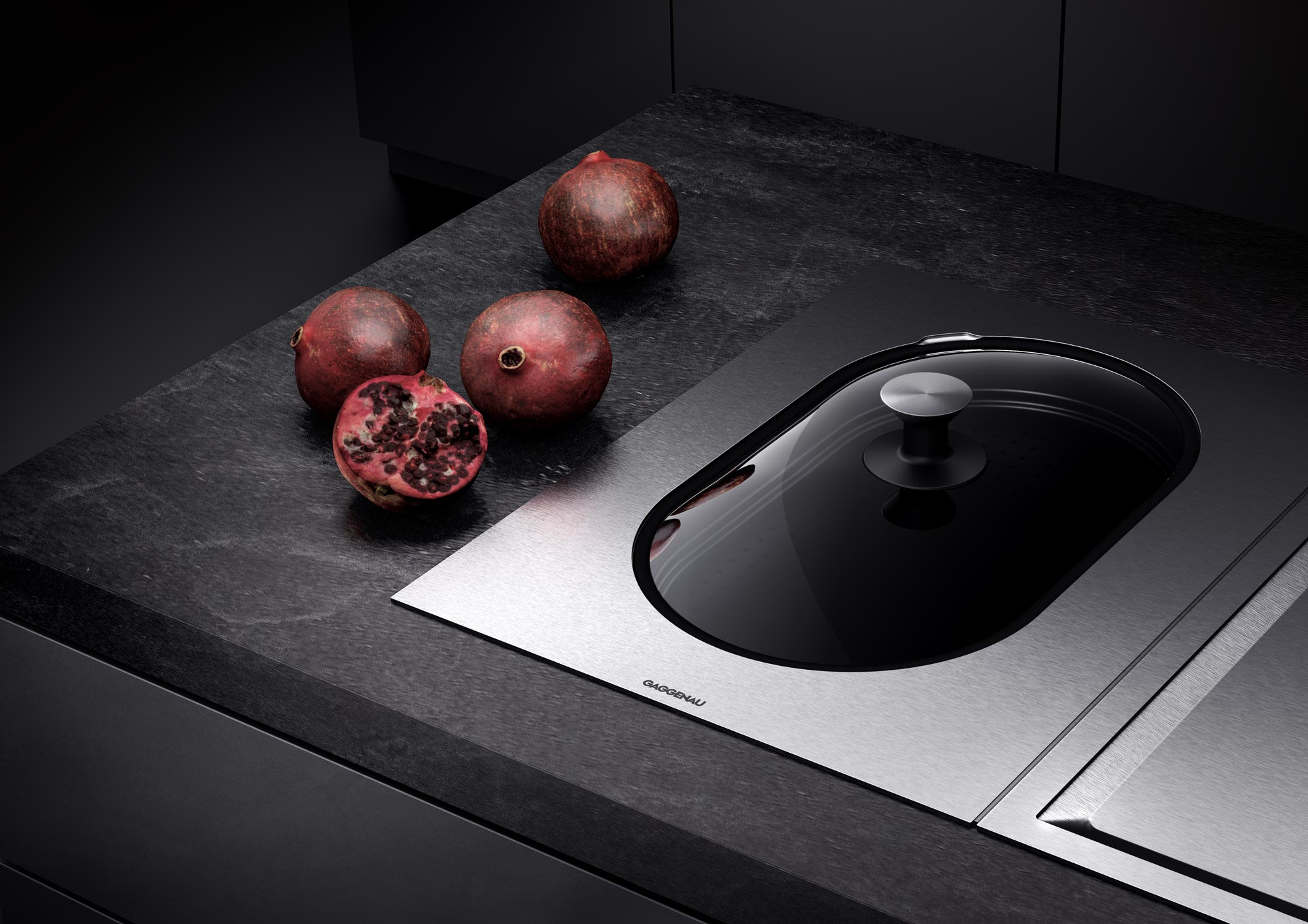 Home appliances - Full CG - Cooktop with food - Detail