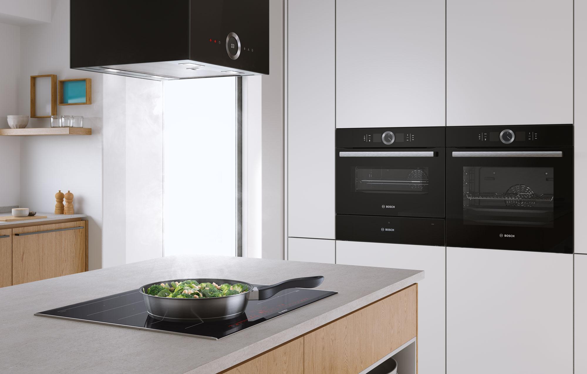 CGI - Bosch - Home Appliances - Induction - Cooker Hood - Oven - Steamer