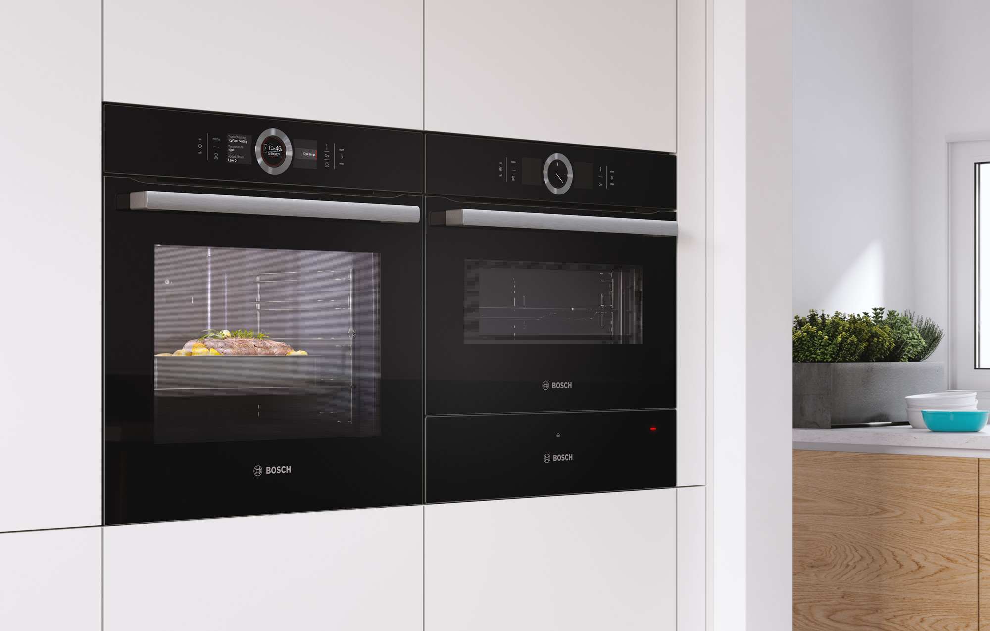 CGI - Bosch - Home Appliances - Oven - Steamer - Warming Drawer