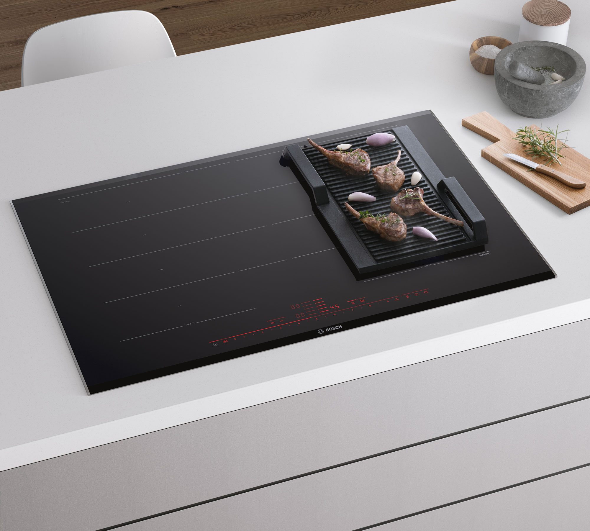 CGI - Bosch - Home Appliances - Induction - grill
