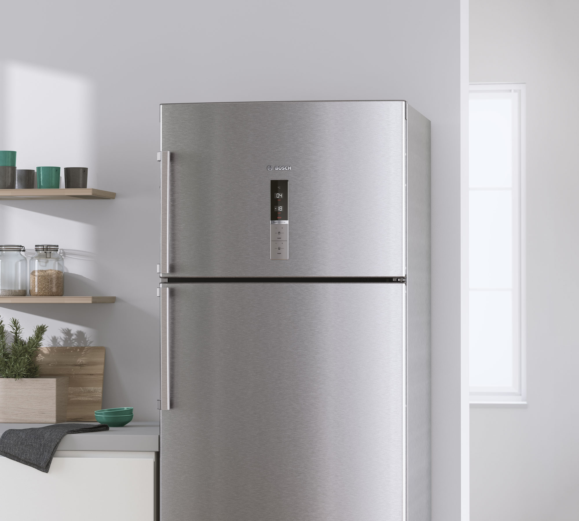 CGI - Bosch - Home Appliances - Fridge-freezers - Close up