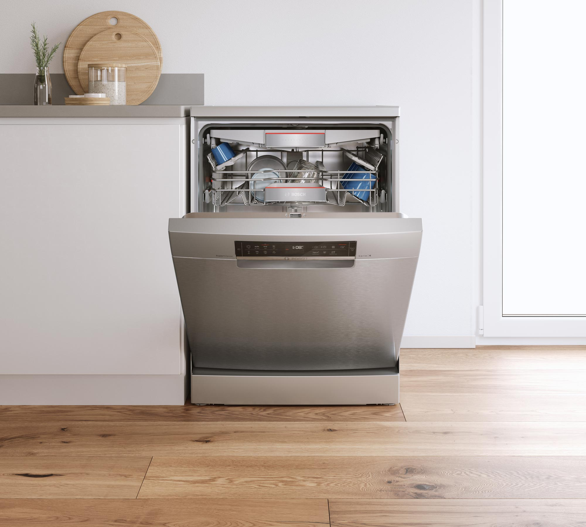 CGI - Bosch - Home Appliances - Freestanding Dishwasher 60cm