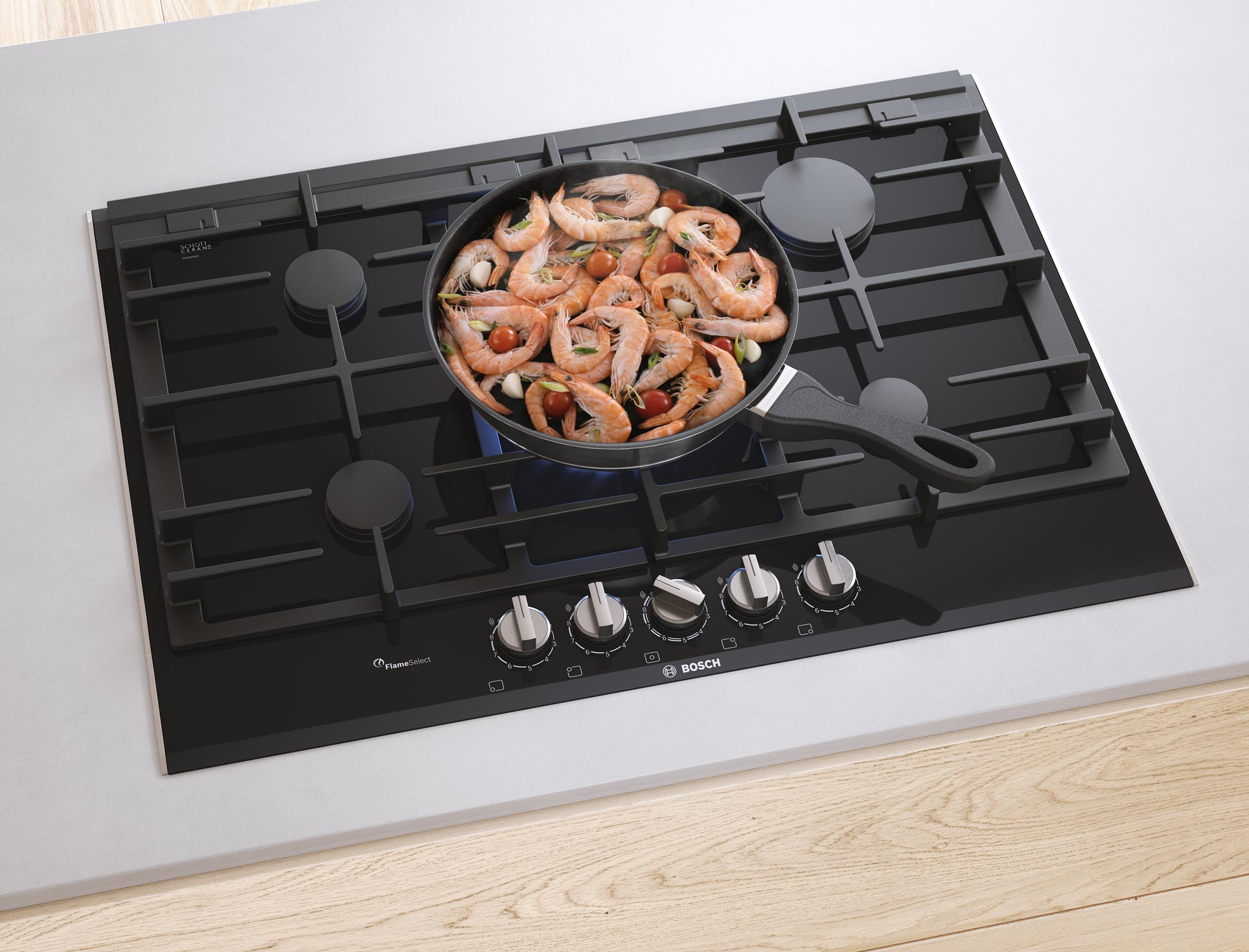 CGI - Bosch - Home Appliances - Gas hob