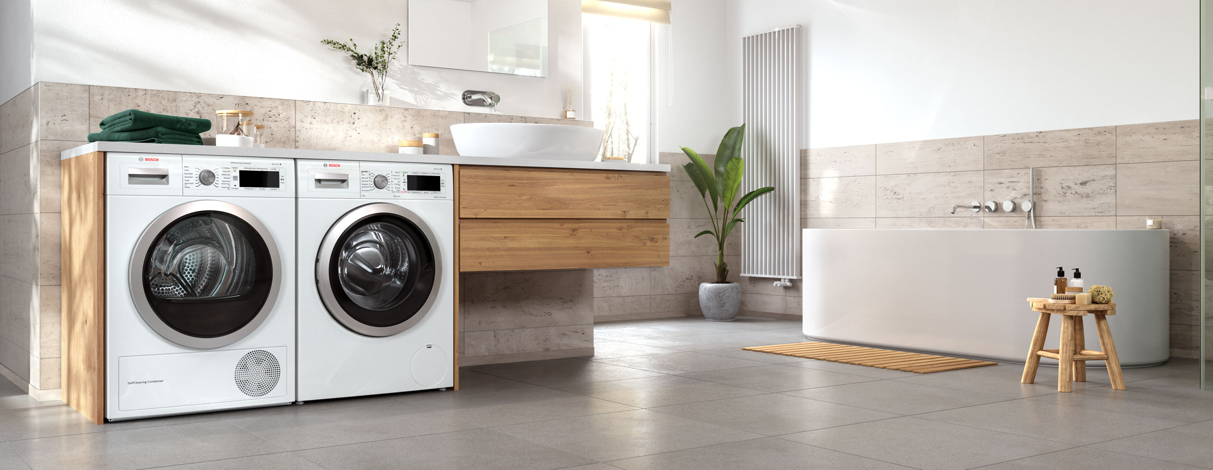 CGI - Bosch - Home Appliances - Washing machine - Dryer