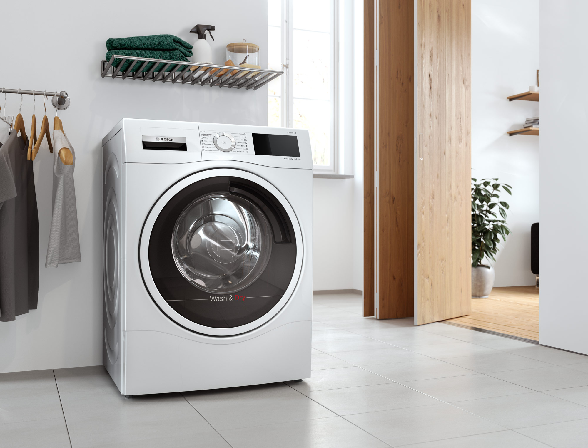 CGI - Bosch - Home Appliances - Washer dryer