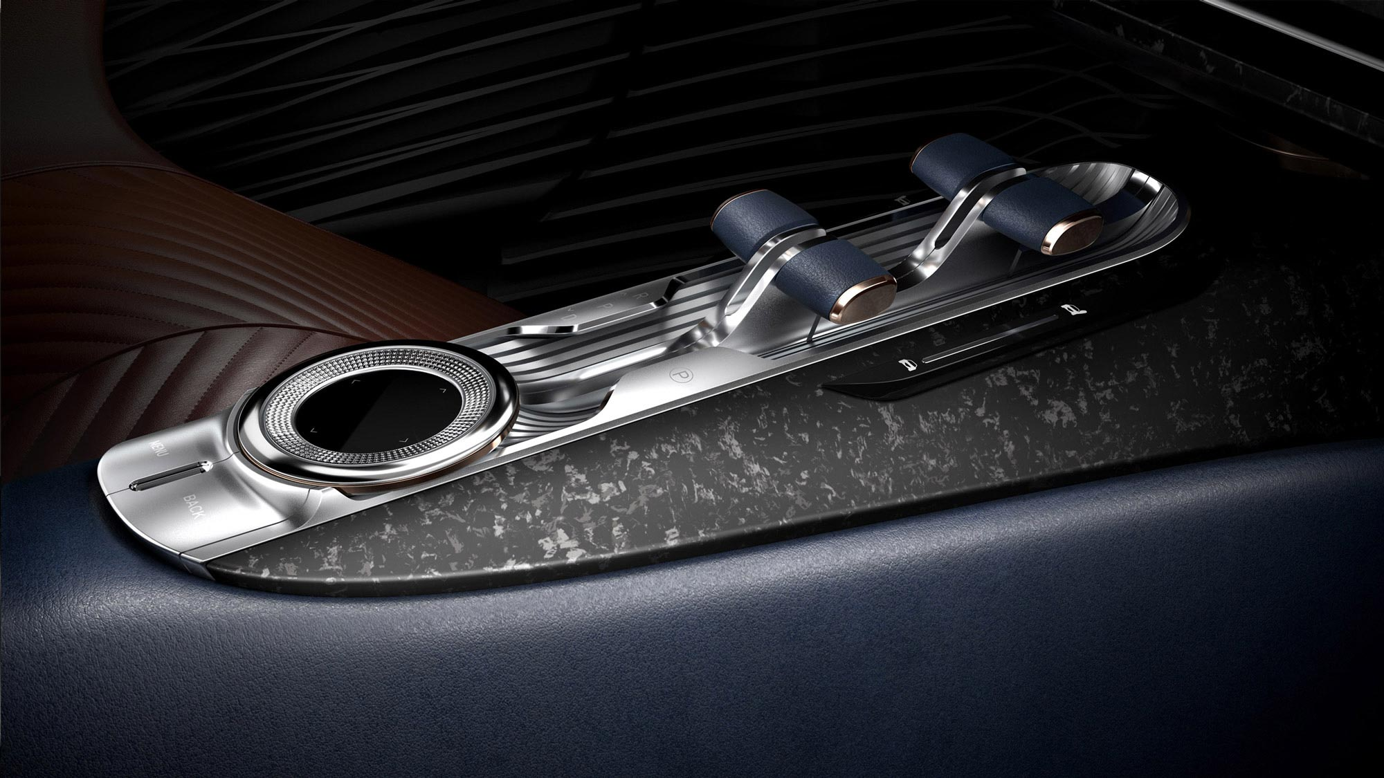 Close up - Essential concept - centre console