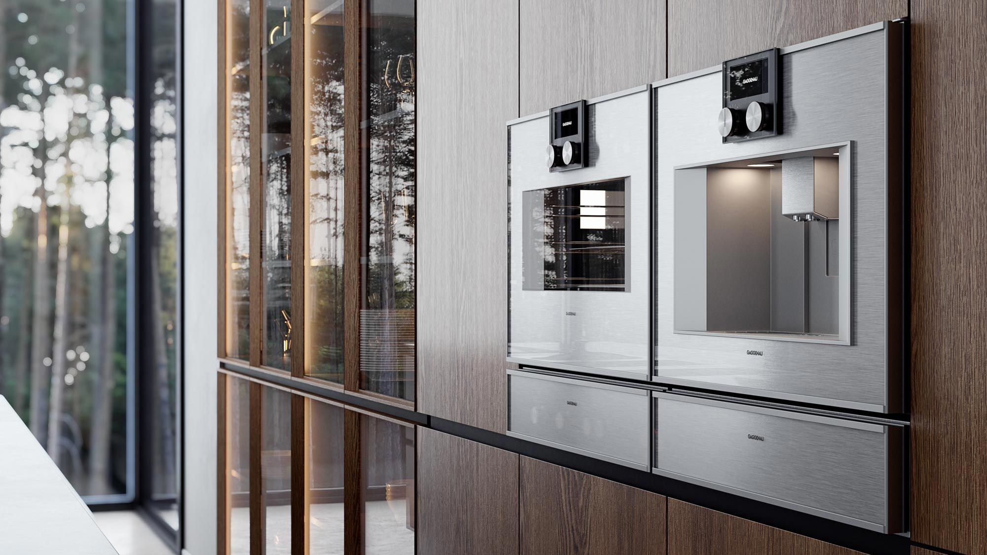 Full CG - Home Appliances - Showroom Forrest
