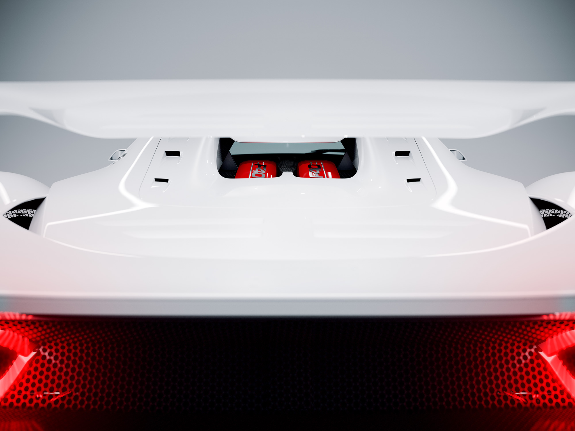 Studio Shot - Concept Car by Samir - Detail rear